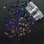 Блеск 3-D Компоненты для самостоятельного изготовления Комплектующие Аксессуары Пайетки Салон ногтей Инструмент для рук