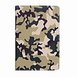 Для корпуса крышка держатель карты камуфляж цвет узор полный корпус чехол камуфляж цвет твердый кожа pu для ipad mini 4 mini 3/2/1