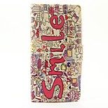 Case for wiko lenny 3 lenny 2 case cover the smile english pattern pu кожаные чехлы для wiko sunset 2