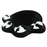 Кошка Собака Кровати Животные Одеяла Контрастных цветов