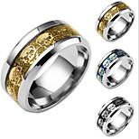 Муж. Жен. Классические кольца Chrismas Титановая сталь В форме черепа Бижутерия Назначение Повседневные