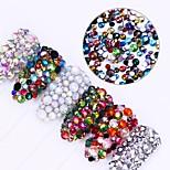 300 Декор для нейл-арта горный хрусталь жемчуг макияж Косметические Ногтевой дизайн