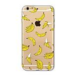 Kotelo iphone 7 plus 7 kattaa läpinäkyvä kuvio takakansi tapauksessa hedelmä laatta banaani pehmeä tpu omena iphone 6s plus 6 plus 6s 6 se