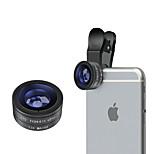 Aszune m-12 mobiele telefoon lens 175 vis-oog lens lens 13x macro lens aluminiumlegering glas 26mm voor Android-iPhone iPhone