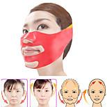 Силиконовая тонкая маска для лица 3d v-line лифтинг лицо повязка пояс для похудения лица двойной подбородок кожи подъем тонкий массажер