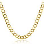 Муж. Ожерелья-бархатки Бижутерия Геометрической формы Позолота Природа Богемия Стиль Гипоаллергенный Multi-Wear способы Готика Бижутерия