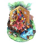 Пазлы Пазлы Строительные блоки Игрушки своими руками Кошка Другое