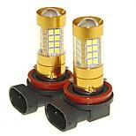 Sencart 2pcs h11 pgj19-1 проблесковая лампочка водить автомобиль хвост поворота лампы заднего фонаря (белый / красный / синий / теплый