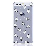 Чехол для huawei p8 lite (2017) p10 чехол для кейса panda рисунок высокий прозрачный материал tpu корпус для царапин телефон для huawei