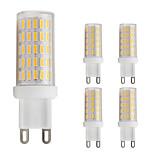 3W Двухштырьковые LED лампы T 86 SMD 4014 280 lm Тёплый белый Холодный белый AC 220-240 V 5 шт. G9