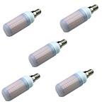 5W Двухштырьковые LED лампы T 180 SMD 2835 700 lm Тёплый белый Холодный белый Декоративная AC220 V 5 шт. E14