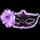 1pc для halloween костюм партия маска маскарад день рождения праздник украшения цвет случайный случай случайный