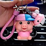 Сумка / телефон / брелок шарм свиньи звон колокол мультфильм игрушка телефон ремешок ПВХ