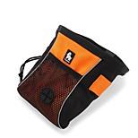 Кошка Собака Переезд и перевозные рюкзаки Животные Корпусы Отражение Компактность Складной Мягкий Однотонный Оранжевый Желтый