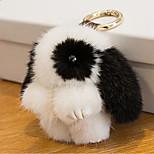 Сумка / телефон / брелок шарм кролик мультфильм игрушка норка мех