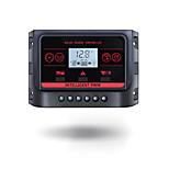 Pwm 12v 24v 30a солнечный контроллер с подсветкой lcd функция dual usb 5vdc выход солнечная панель аккумулятор зарядный регулятор