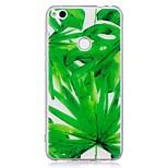 Чехол для huawei p10 lite p10 чехол для крышки зеленый лист шаблон tpu материал imd корпус для мобильного телефона для huawei p8 lite