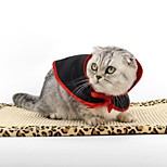 Кошка Собака Костюмы Одежда для собак Косплей Английский Черный/Красный