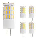 3W Двухштырьковые LED лампы T 42 SMD 4014 260 lm Тёплый белый Холодный белый V 5 шт. G4