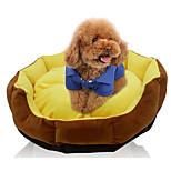 Собака Кровати Животные Коврики и подушки Однотонный Теплый