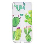 Чехол для huawei p10 p10 lite чехол для крышки кактус узор окрашенный высокий проникающий материал tpu imd процесс мягкий чехол телефон