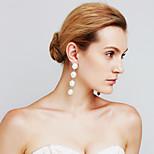 Γυναικεία Σκουλαρίκια Σετ Απομίμηση Μαργαριτάρι Euramerican ταινία Κοσμήματα Μοντέρνα Εξατομικευόμενο Χαλκός Circle Shape Κοσμήματα Για