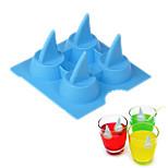 1 шт. Формы для пирожных Shark Лед Для получения льда Для мороженого СиликонСвадьба День рождения День Святого Валентина День