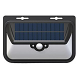 2017 новый солнечный треугольник настенный светильник водонепроницаемый светодиодный датчик человеческого тела свет наружный двор пейзаж
