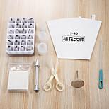 33Шт./набор Формы для пирожных Новинки Повседневное использование Нержавеющая сталь + категория А (ABS)Инструмент выпечки Творческая