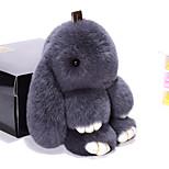 Сумка / телефон / брелок шарм кролик мультфильм игрушка рекс кролик меха 19см