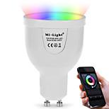 5W Slimme LED-lampen A60 (A19) 12 SMD 5730 500 lm Dual Lichtbron Kleur RGB + WhiteInfrarood Sensor Dimbaar Op afstand bedienbaar WiFi