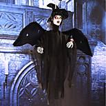 Хэллоуин висит призраки Хэллоуин ужас реквизит украшения элементы звук контроль фоторецептор глаз может вспыхнуть глаз может вспыхнуть