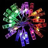 7W 8W Гирлянды 700-800 lm <5V V 2 м 20 светодиоды Теплый белый RGB