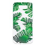 Кейс для lg g6 чехол для корпуса банан листья рисунок высокий проникновение tpu материал царапина телефон случай