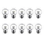 3W Круглые LED лампы G45 24 SMD 2835 250 lm Тёплый белый Холодный белый 220 V 10 шт. E27