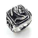 Муж. Классические кольца Бижутерия Rock Готика Нержавеющая сталь В форме черепа Бижутерия Назначение Для улицы Для клуба