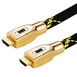 HDMI 1.4 Кабель, HDMI 1.4 to HDMI 1.4 Кабель Male - Male Позолоченная медь 8.0m (26ft)