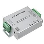 Hkv® 1pcs led rgb усилитель 12a led controller dc 12-24v для светодиодных лампочек