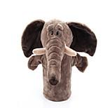 Пальцевая кукла Слон Лошадь Хлопковая ткань