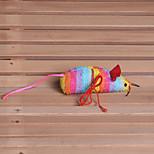 Игрушка для котов Игрушки для животных Плюшевые игрушки Мышь Ткань
