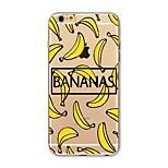 Чехол для iphone 7 плюс 7 крышка прозрачный узор задняя крышка чехол плоская плитка банан мягкая tpu для яблока iphone 6s плюс 6 плюс 6s 6