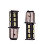 2шт 5.5w белый dc12v 1156 1157 bay15d 18led 5730smd светодиодный фонарик для автомобилей с подсветкой автомобиля высокого качества
