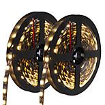 72W Гибкие светодиодные ленты 6950-7150 lm DC12 V 10 м 300 светодиоды Теплый белый белый синий