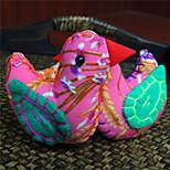 Сумка / телефон / брелок шарм птица мультфильм игрушка полиэстер случайный цвет