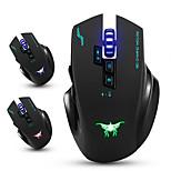 Combaterwing cw100 беспроводная игровая мышь оптические мыши с 4 регулируемыми уровнями dpi 8 кнопок 3 цвета дышащие огни для ПК