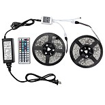 72W Наборы ламп 6500-7200 lm AC100-240 V 10 м 600 светодиоды RGB