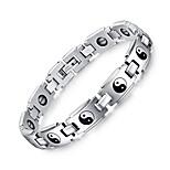 Муж. Браслеты-цепочки и звенья Браслет цельное кольцо Природа Мода Титановая сталь Круглый Бижутерия Бижутерия Назначение Повседневные