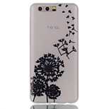 чехол для huawei honor 9 cover glow in the dark back cover case одуванчик мягкий tpu
