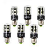 3.5 LED лампы типа Корн T 28 SMD 5736 400 lm Тёплый белый Холодный белый Декоративная V E27