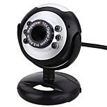 веб-камера ПК камера с USB-портом регулируемый держатель встроенный микрофон поддержка громкости светодиодный фонарь